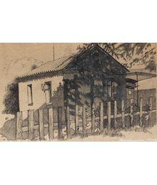 House in the shade. Elena Novozhenina