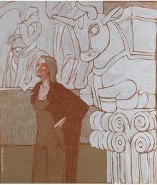 In Museum. 3. Elena Novozhenina