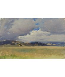 Clouds over Tanchu-Ola. Evsey Reshin