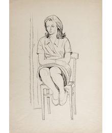 Сидящая на стуле. Олег Филиппов
