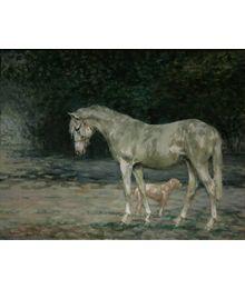 Белая лошадка. Катерина Уварова