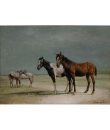 Две лошадки. Катерина Уварова
