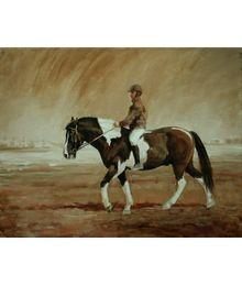 Всадник на пегой лошадке. Катерина Уварова