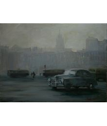 Машина на площади. Катерина Уварова