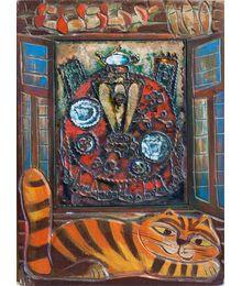 Panel. Festive still life. Vadim Sokolov