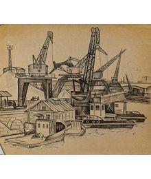 Cranes. Oleg Filippov
