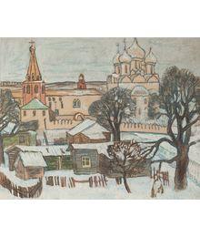 В старом городе. Олег Филиппов