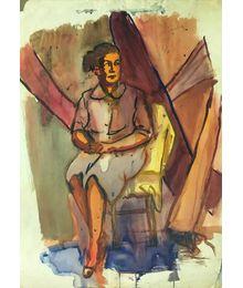 Портрет женщины в розовом. Владимир Харченко