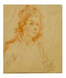 Портрет девушки. Евсей Решин