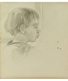 Портрет девочки. Евсей Решин