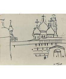 Загорск. 27.IX.1968. Вадим Соколов