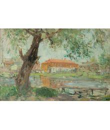 On the River Trubezh. Inna Mednikova