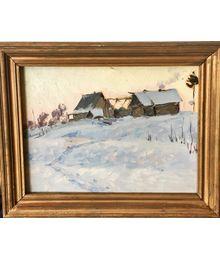 Зимний пейзаж. Надежда Воробьева