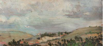 Etude. Mountain landscape. Larisa Chorbadze
