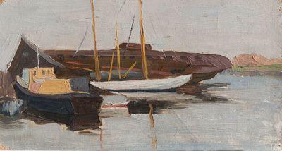 Etude. Boats. Larisa Chorbadze