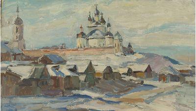 Winter in Suzdal. Tatiana Konovalova-Kovrigina