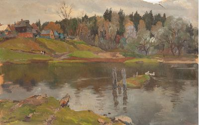 September in the Village. Evgeny Bitkin