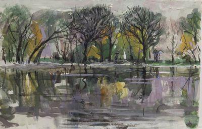Дождик в парке. Аля Путрик