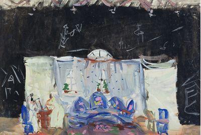 "Stage Set for N.Ostrovsky's ""Profitable Place"". Inna Mednikova"