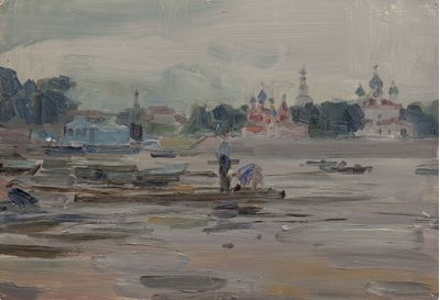 Summer on the River. Vassily Minyaev