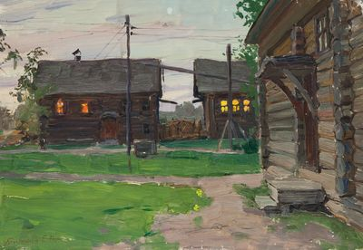 Evening in the Country. Evgeny Bitkin