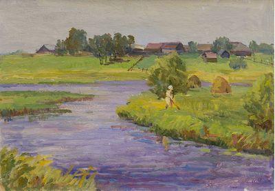 Summer. Haymaking. Inna Mednikova