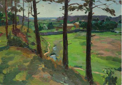 Summer Landscape. Evgeny Bitkin