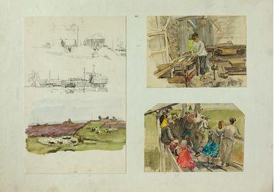 A Series of Sketches. Evgeny Rastorguev