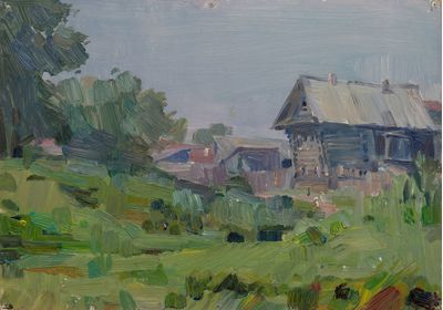 Summer in the Village. Vassily Minyaev