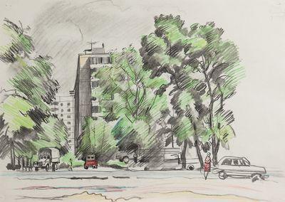 Leonid Usaitis. Cityscape