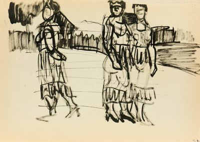 In the Village. Sketches. Natalia Orlova