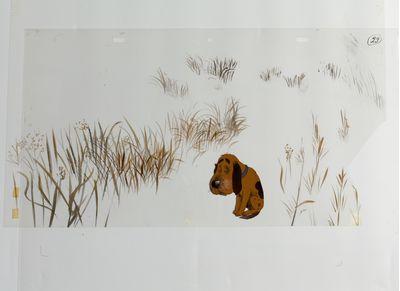 "Shot from the animated film ""The Last Hunt"" (dir. V. Karavaev). Valentin Karavaev"