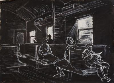 In the Train. Natalia Orlova