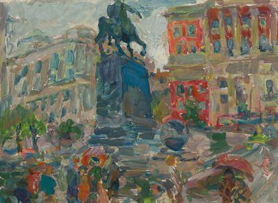 Monument to Yuri Dolgorukiy. Inna Mednikova