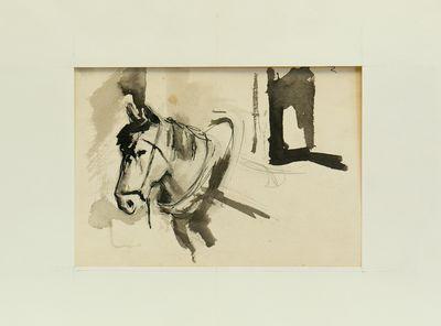A Horse. Evsey Reshin