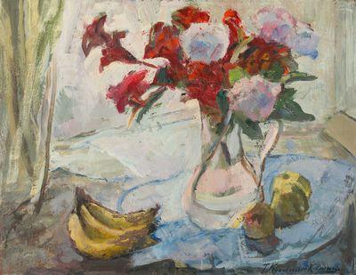 On the Window. Tatiana Konovalova-Kovrigina