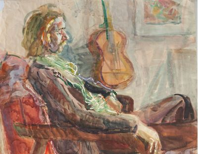 A Portrait of a Man. Inna Mednikova