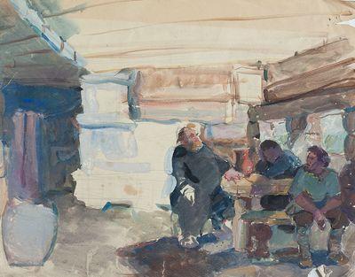 Sketch of illustration. Inna Mednikova