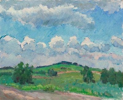 Summer Landscape. Valeria Siziakova