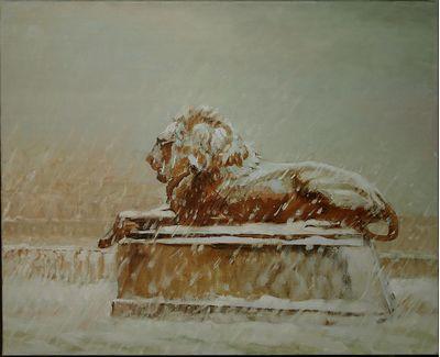 Лев зимой. Катерина Уварова