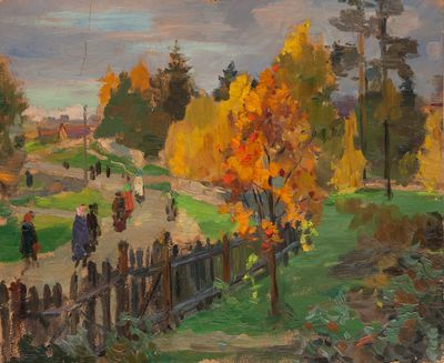 Village Street. Evgeny Bitkin