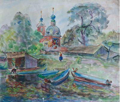 In Pereslavl-Zalessky. Inna Mednikova
