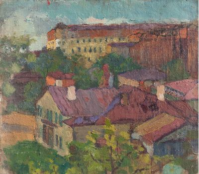 Moscow landscape. Unknown artist