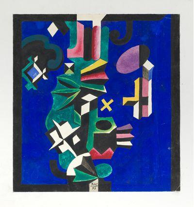 Colored glassware. Robert Kondakhsazov