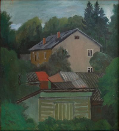 House and Yard. Oleg Ivanov