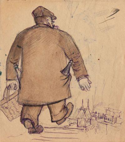Dad is on the Way to Get Kerosene. Boris Bespalko