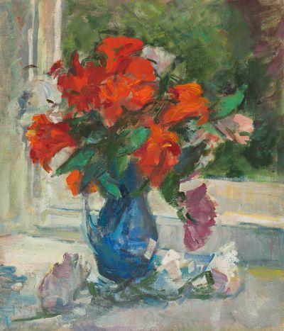 Lilies on the Window. Tatiana Konovalova-Kovrigina