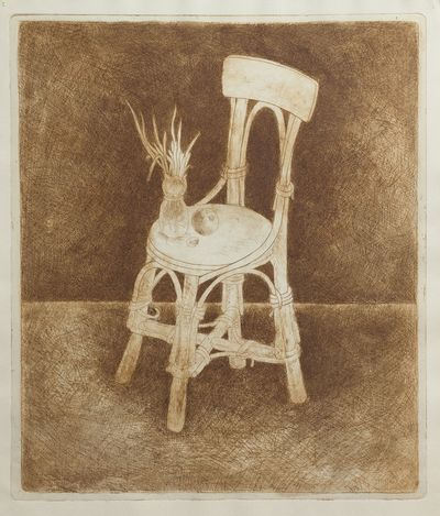 A Chair. Unknown artist