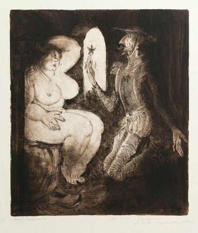 Don Quixote and Dulcinea. Galina Karavaeva