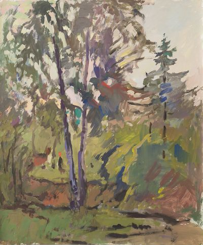 В лесу. Евсей Решин